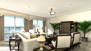 residential house plans living room